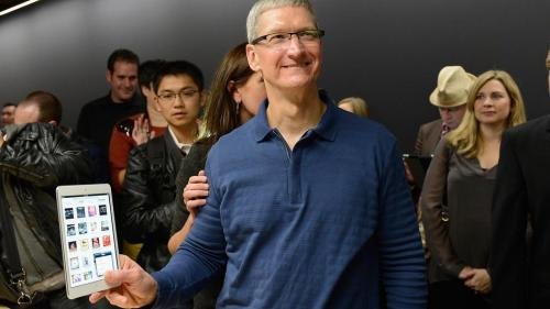"Tim Cook speaks at Goldman Sach's annual Technology and Internet Conference. Says Apple will ""Never make a crappy product."" I love him. I really do."
