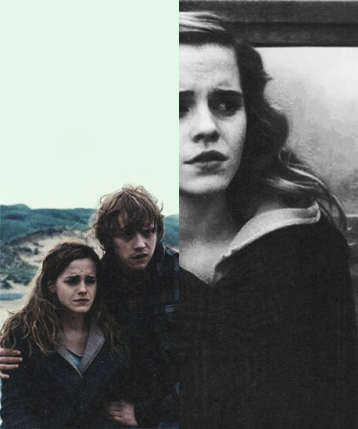odaires-s:  It's a ship » Ron + Hermione