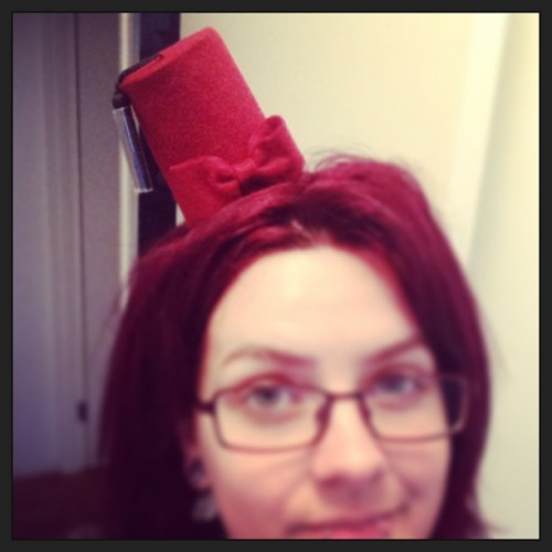 My fez for my 11th Doctor cosplay is here 😍😍😍😍😍😍😍😍