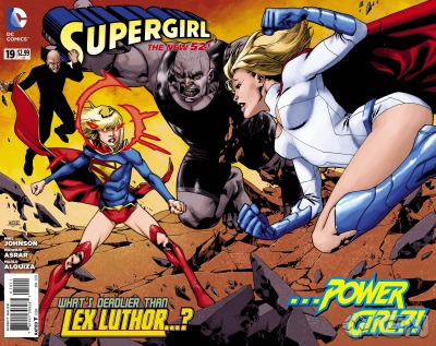 IGN has a preview of Supergirl #19 with a special guest star.