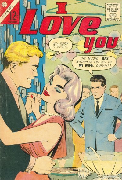 elizabitchtaylor:  romancecomics:   I Love You  #44   look at the fucking hipster with the lilac hair