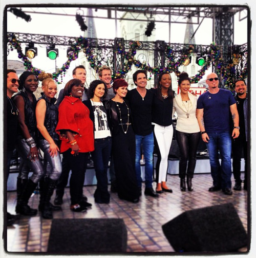 Us with the ladies of The Talk. Don't forget to tune in to CBS today at 2pm ET/ 1pm PT/CT!