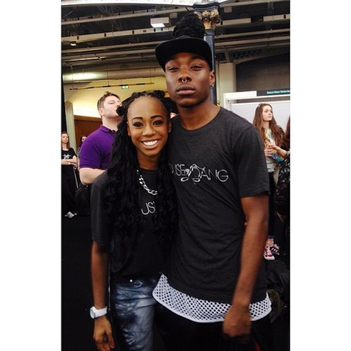 Me & Remi at #moveit2014 #houseofdang 😁✌️.