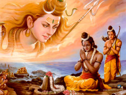 bhaktibear:  Lord Rama and Lord Shiva