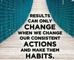 Create habits for success