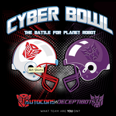 """Cyber Bowl"" by D4N13L Available now on Art-Shirts, only 16€!"
