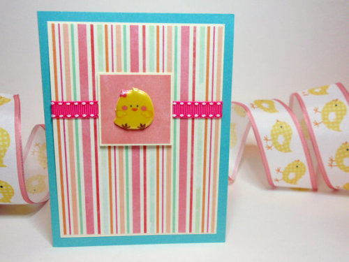 Fun little Easter card, find it here.