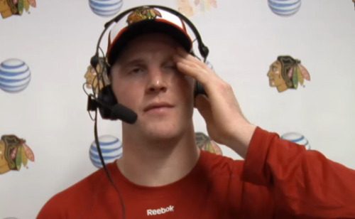 Bryan Bickell is SO stressed out about growing a beard, you guys. Can't blame him - it doesn't look promising.
