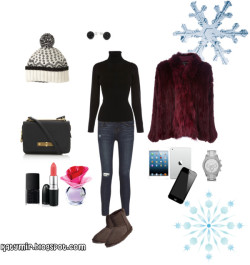 Winter day by katerina-mironiouk featuring a someday justin bieberKaren Millen army sweater / Elizabeth and James ., $1,255 / J Brand skinny fit jeans / EMU Australia sheepskin boots / Marc by Marc Jacobs marc jacobs handbag, $420 / MICHAEL Michael Kors bangle bracelet watch / Shamballa Jewels , $3.39 / Aubin & Wills beanie hat, $39 / Someday justin bieber / NARS Cosmetics , $23