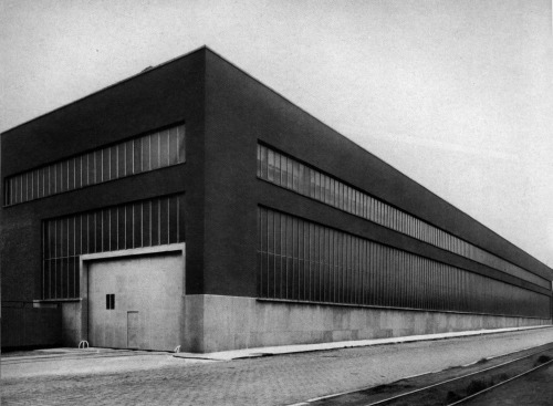archiveofaffinities:  A. and J. Polak, Factory at Gembloux, Near Namur, Belgium
