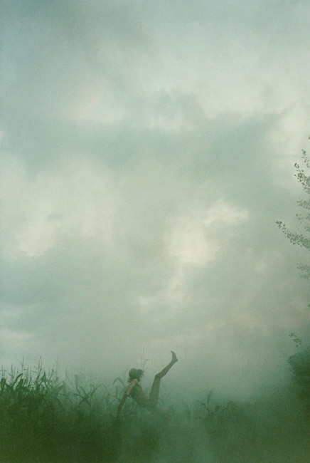 mmelancolie:  Falling (cornfield) by Ryan McGinley  We all fall down