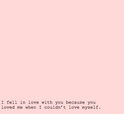 velvet-stars:  And then you too stopped loving me.