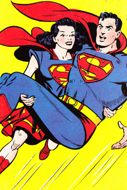 rrrick:  jthenr-comics-vault:  Superman #57 (April 1949)Art by Wayne Boring (Pencils)& Stan Kaye (Inks)  Worst superhero ever.