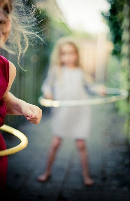 underthecarolinamoon:  Simple joys.  Hula-hoop.