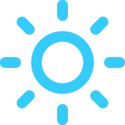 Mostly Sunny today! With a high of 75F and a low of 46F. #Weather#Today