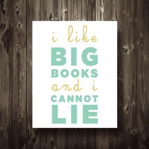 visualgraphic:  I like big books