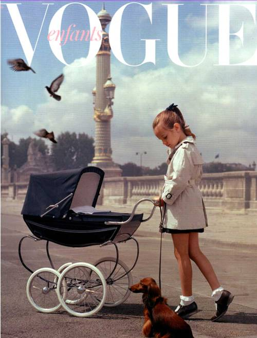 jennasstylediary:  lacloserie:  Vogue 2011  this is beyond adorable
