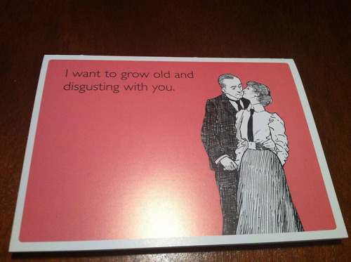 My Valentine's Day card from Brandi. I married a keeper. on Flickr.