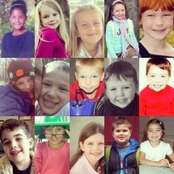 whitleybryant:  The poor babies who lost their lives in the #newtown #Connecticut #shooting. #rip #angels #children #innocent 🙏👼