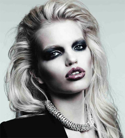 highonflowers:  daphne groeveld by hedi slimane