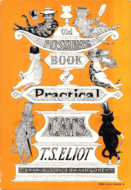 iconoclassic:  (via T. S. Eliot's Iconic Vintage Verses About Cats, Illustrated and Signed by Edward Gorey | Brain Pickings)