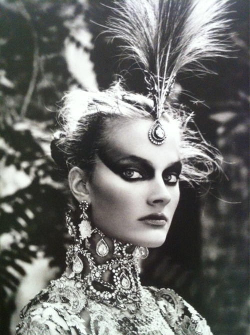 headcruise:   Constance Jablonski by Patrick Demarchelier for Christian Dior Haute Couture F/W 1997