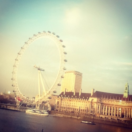 London Eye!, lovely day walking beside you :3