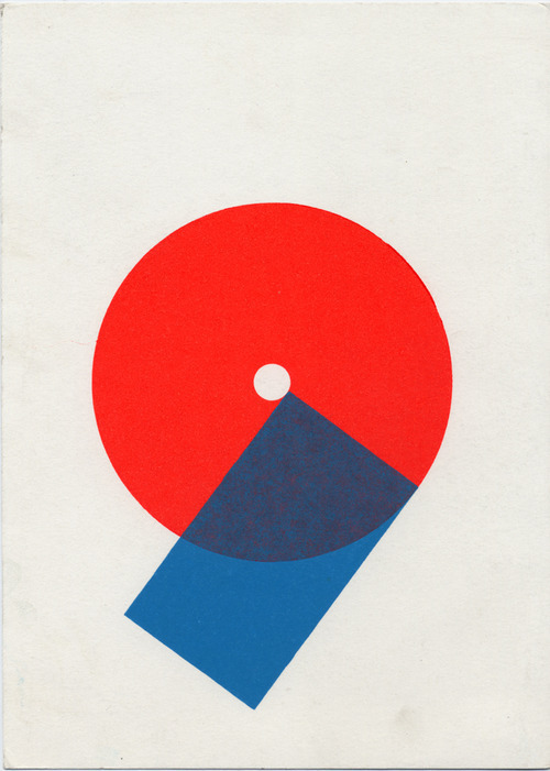 brandingdong:  Karel Martens Untitled, 2008letterpress on paper6 × 8 ¼ in. (150 × 210 mm)