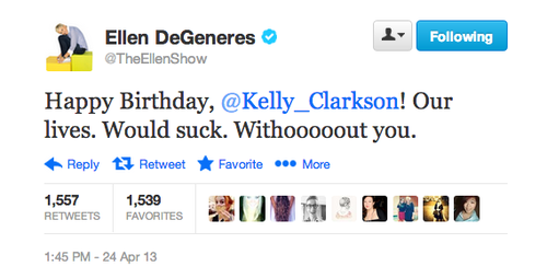 Anything You Can Do, Kelly Clarkson Can Do Better. In honor of her b-day we tell you why.