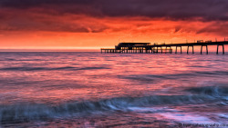 Pier Sunrise III by byVini photography on Flickr.