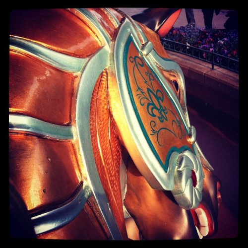 #disneylandparis #horse #carrousel