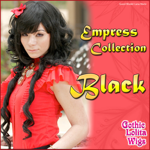 ♥ Empress Collection - Black ♥This lovely wig is part of our Empress Collection and comes pre-styled with two long, looser curls that drape down the side, and multiple layers of curls which make up the main piece of the wig. Worn here by guest model Lana, it comes with two longer, straight pieces in the front to help frame your face and medium-length bangs that can be worn blunt or side-swept to achieve any style you wish!On Sale Here: www.GothicLolitaWigs.com/Empress-Collection/Guest Model: Lana Marie | Haitham's Photography