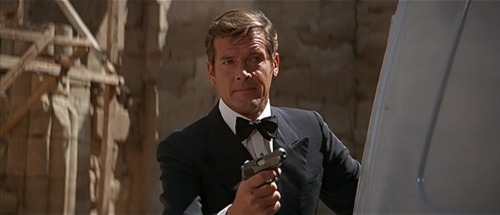 jerzybondov007:  Moore as 007 THE SPY WHO LOVED ME (1977)