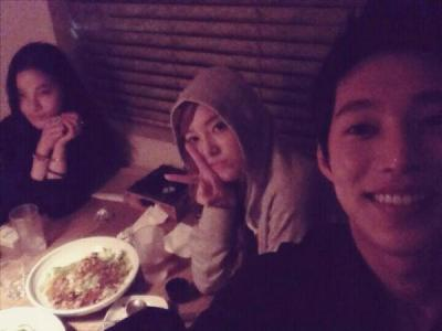 fuckyeahsoshi-sone:  Jessica New Selca w/ WonSuck and friend
