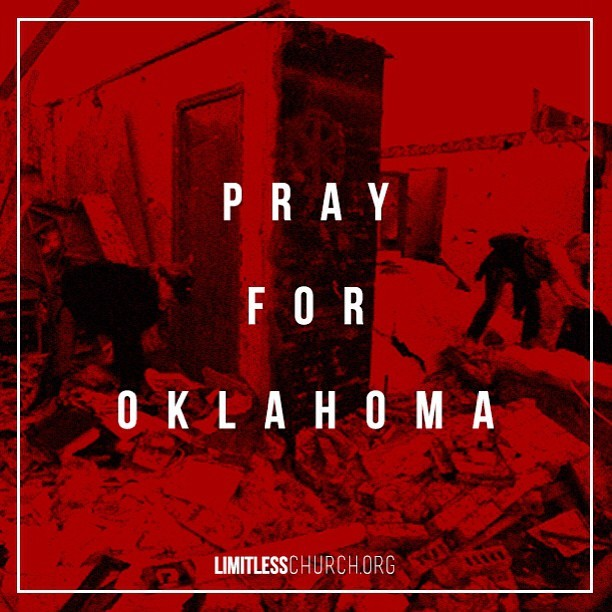 All of us here at @LimitlessChurch are praying for our friends and all those effected by the Tornado!