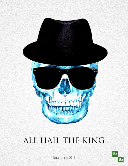 breakingbadamc:  ALL HAIL THE KING