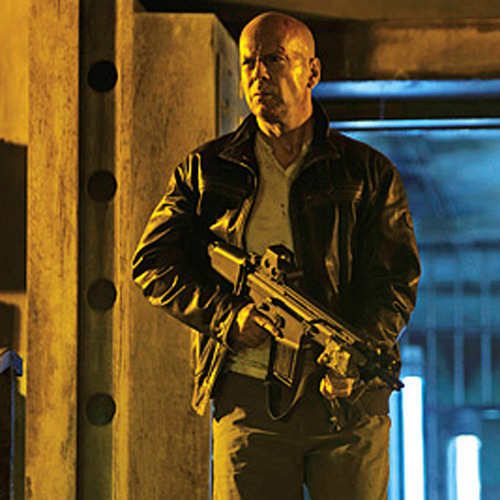 totalfilm:   New gun fight clip from A Good Day To Die Hard: watch now A new clip has emerged from A Good Day To Die Hard in which Bruce Willis and Jai Courtney open up a whole can of whoop-ass on some nefarious Euro-baddies…