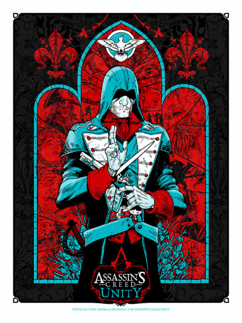 Angryblue Tony Moore Assassin's Creed Unity Poster Learn More HERE