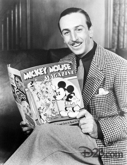 The dapper Walt Disney