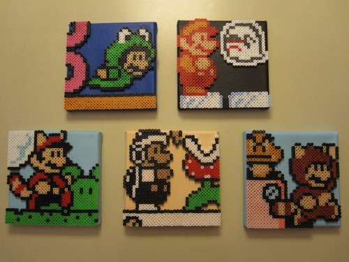 """""""Suit Up"""" Mario 3 Montage by Joseph Uzzo Available on Etsy Tumblr"""
