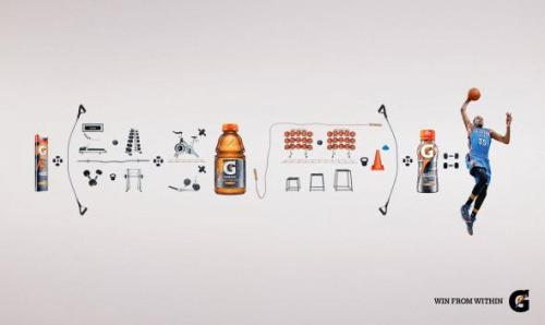 (Gatorade: Equation | Ads of the World™から)