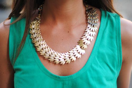 girl style jewelry necklace girlyfashion