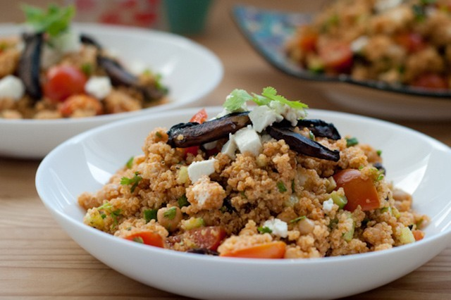 Quinoa Salad With Chickpeas And Smoked Paprika Vinaigrette