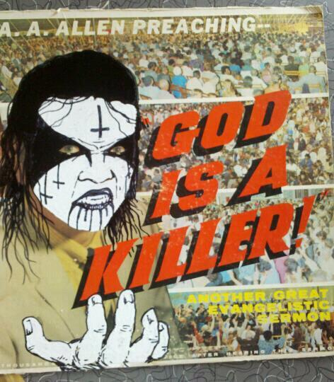GOD IS A KILLER.