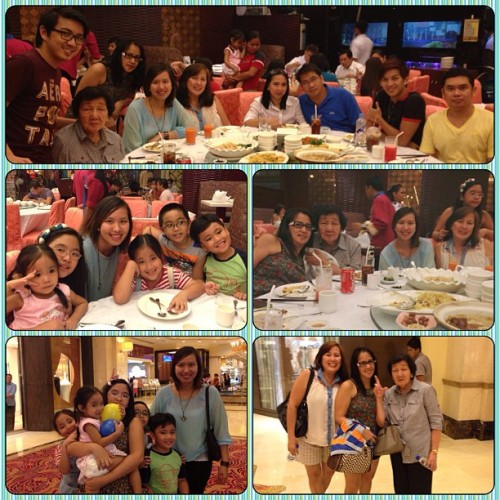 Dinner with the family last night at Resorts World~ #family #love