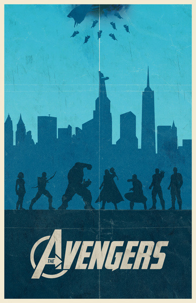 The Avengers - by Bill Pyle Prints available at Society6 Artist: DeviantART || Twitter || Facebook