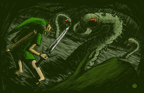 Link vs. Swamola's by Chris Hegland