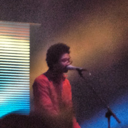 Chaz of Toro y Moi at The National on 2/9/13