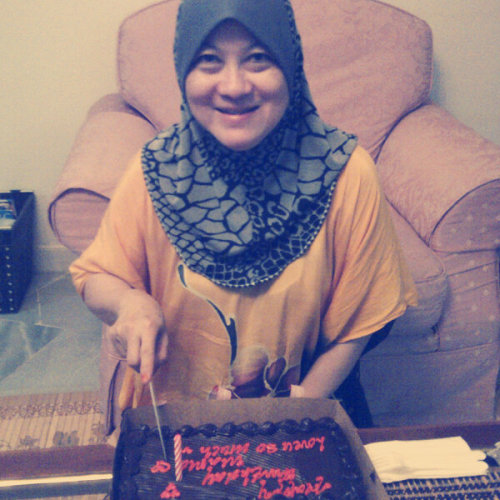 Happy Birthday Mama! 23.12.2012  (Photo taken and uploaded via MOLOME )