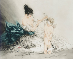 hoodoothatvoodoo:  Louis Icart 'Love So Blind'